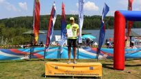 Aneta Arifi treći put prvakinja države u triatlonu