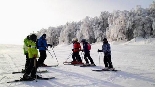 Skijaši na stazi / foto: A.Milikić