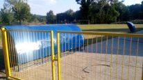 Novi UO OFK Slatine renovira stadion