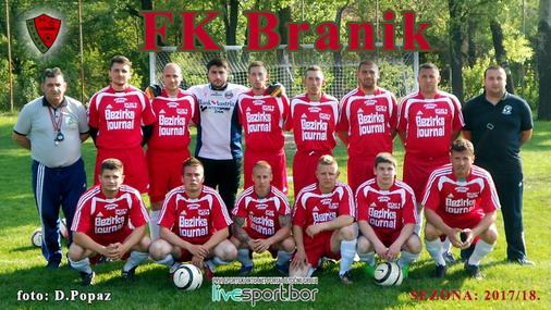 Tim FK Branik / foto: Live SPORT