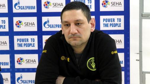 Ivan Petković trener RK Dinamo / foto: SehaLeague / M.D