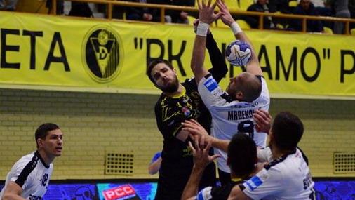 Detalj sa utakmice RK Dinamo / foto: SehaLeague / M.D