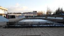 Postavljanje klizališta u Boru početkom decembra