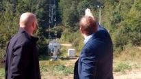 Predsednik Opštine obišao radove na skijalištu Crni vrh