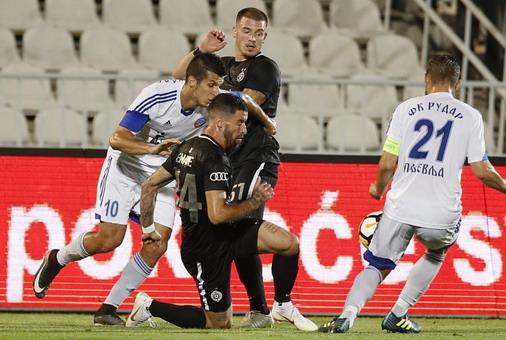 Detalj sa utakmice Partizan-Rudar / foto: FK Partizan