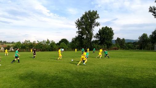 Detalj sa današnje utakmice OFK Slatina - FK KRivelj / foto: D.Popaz