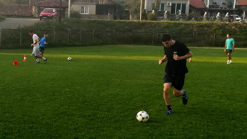 Detalj sa treninga u Slatini : foto: D.Popaz
