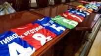 Donacija sportske opreme za fudbalske klubove iz Zaječara