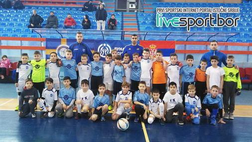 Mlade fudbalske nade Zaječara i Negotina / foto: Live SPORT