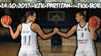 ŽKK Bor poražen od Partizana 80:53