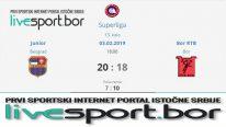 Boranke poražene u finišu utakmice u Beogradu 20:18